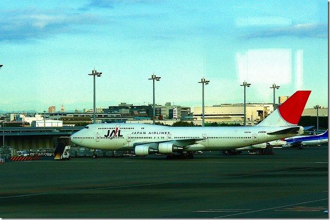 JALのジャンボ(ボーイング747)
