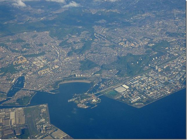 八景島シーパラダイス 上空