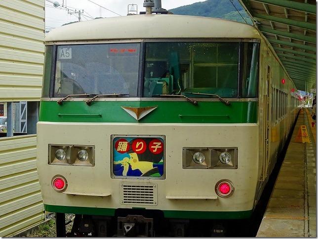伊豆急下田駅 185系 踊り子号