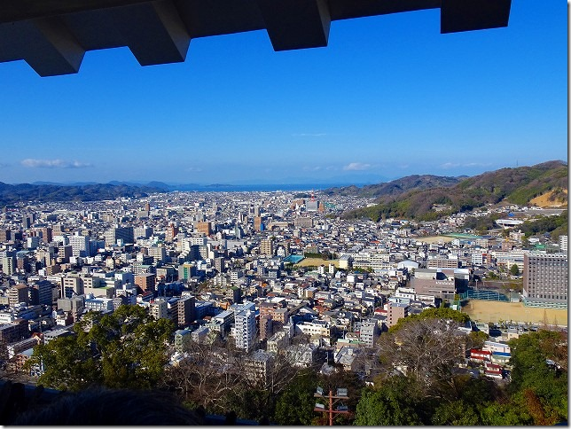 松山城(愛媛県 松山市)
